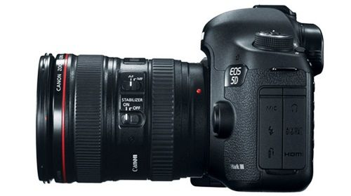 Kamera Vlog Canon EOS 5D Mark III