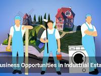 Jenis Peluang Usaha Menguntungkan di Kawasan Industri Pabrik dan Perumahan