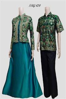 Gamis Batik Dan Bolero