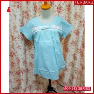 MOM243B17 Baju Atasan Hamil Polkadot Menyusui Bajuhamil Ibu Hamil