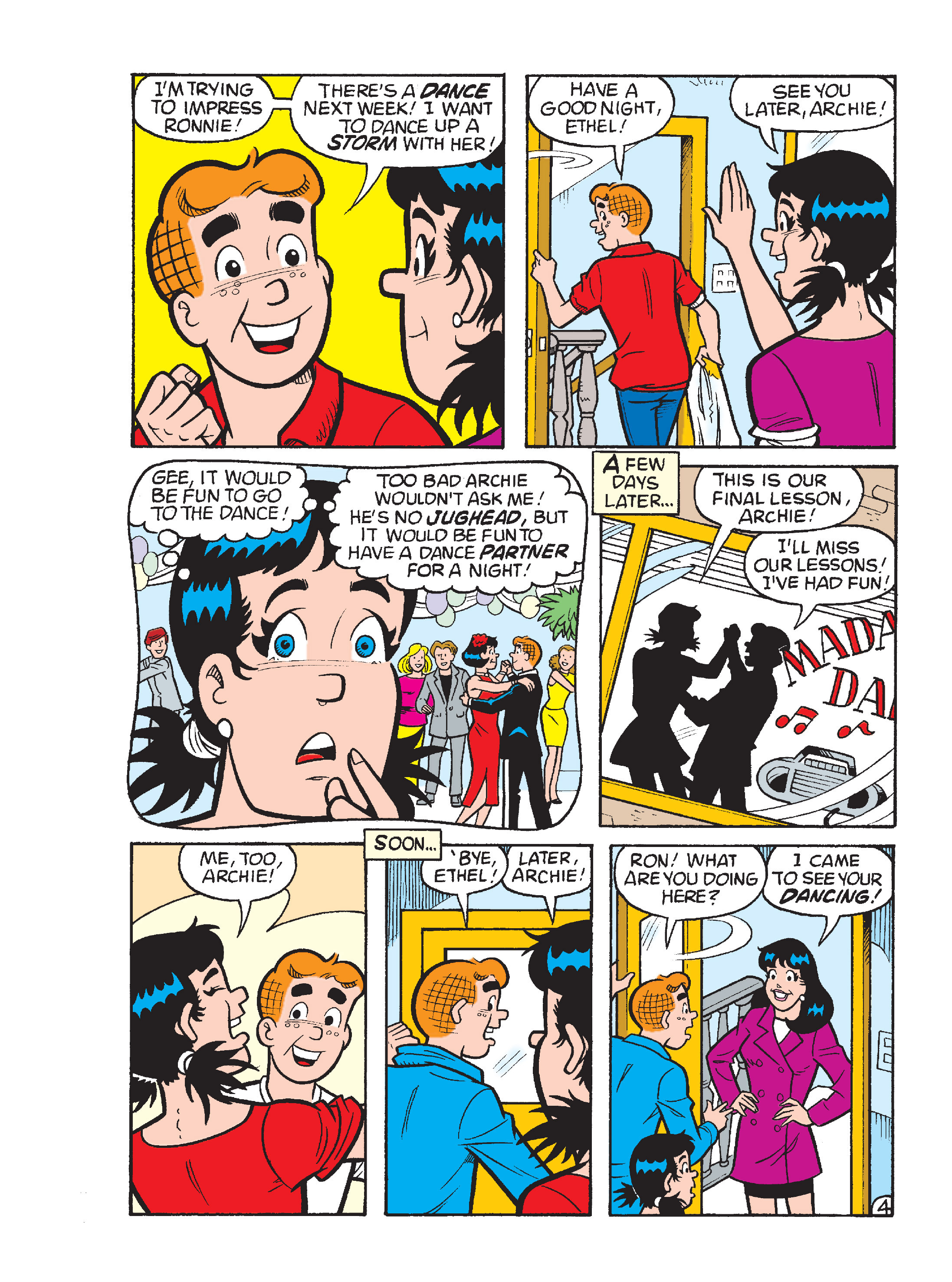 Read online Archie's Funhouse Double Digest comic -  Issue #17 - 107