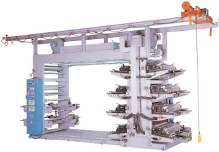 8 Colors Flexographic Printing Machine With Stack Type