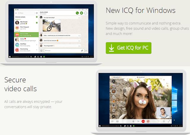 ICQ Screenshots