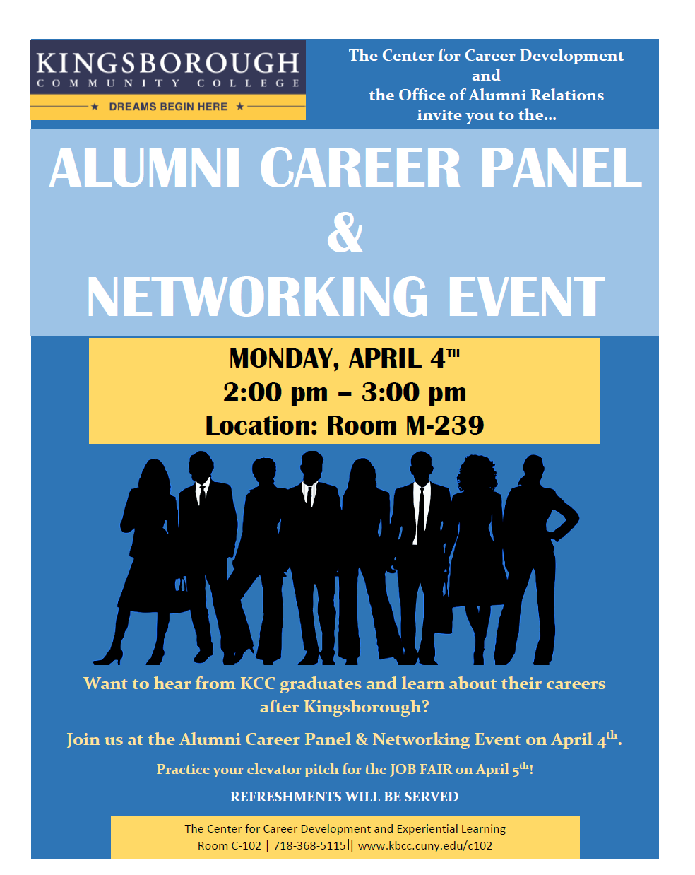 KCC Student Career Spotlight: Alumni Career Panel