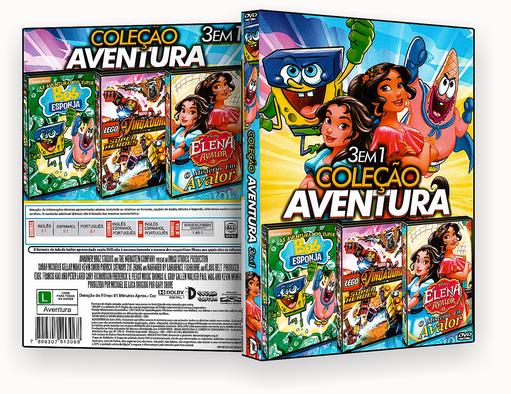 CAPA DVD – Coleção 3 Em 1 Aventrura Vol.1 – ISO