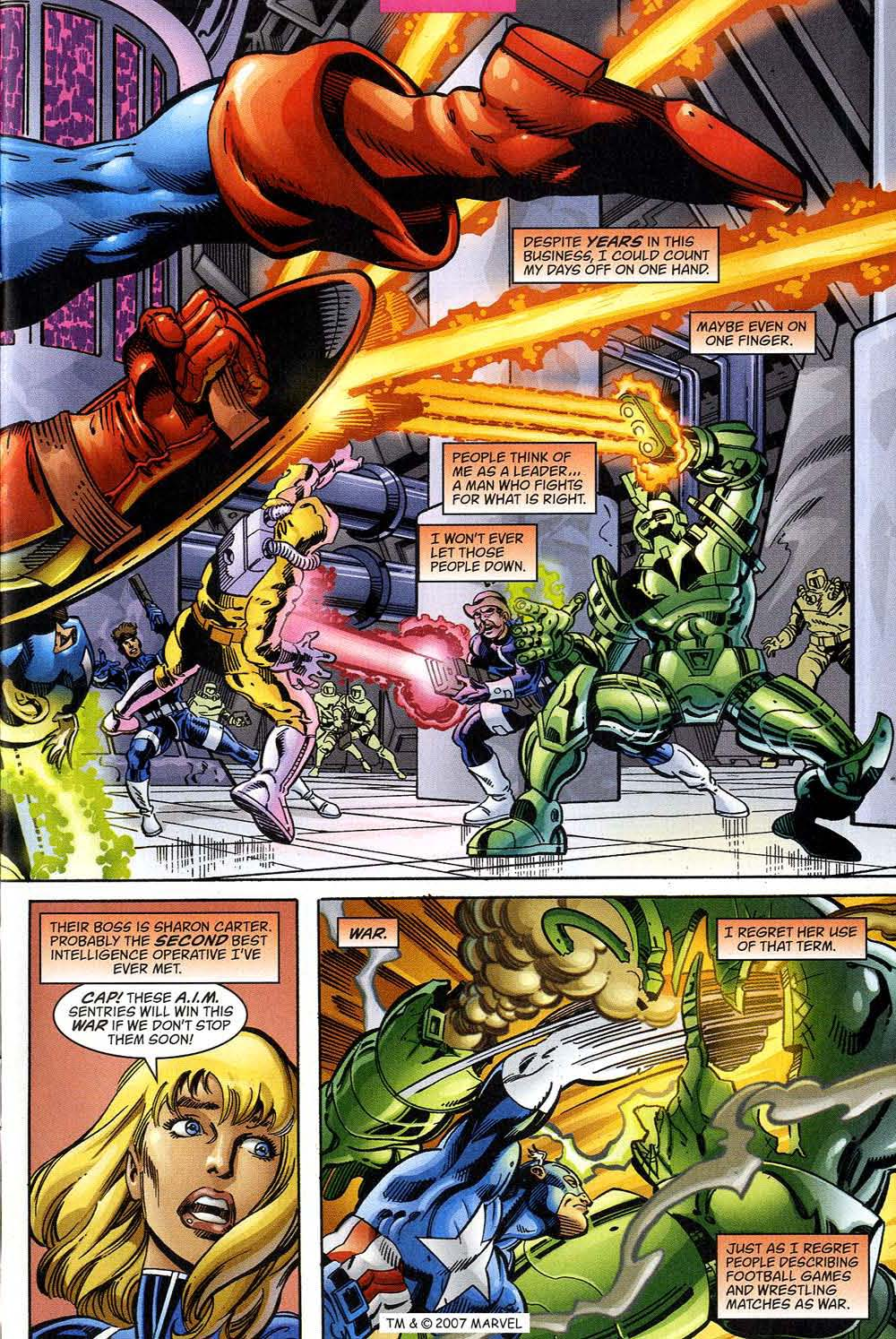 Captain America (1998) Issue #39 #46 - English 5