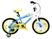 Sepeda Anak Wimcycle Minions 18 Inci Lisensi