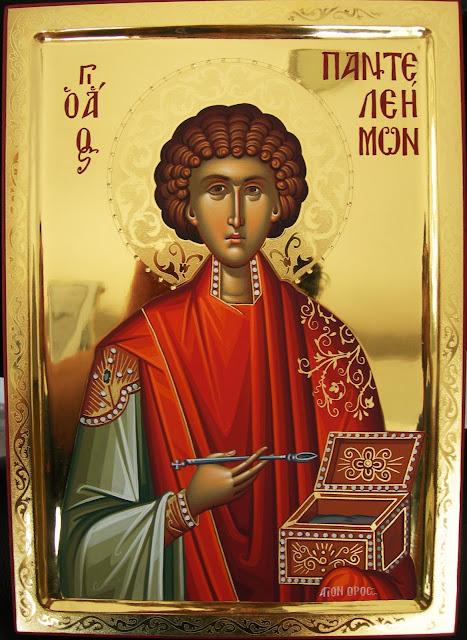 Αποτέλεσμα εικόνας για αγιος παντελεημονας