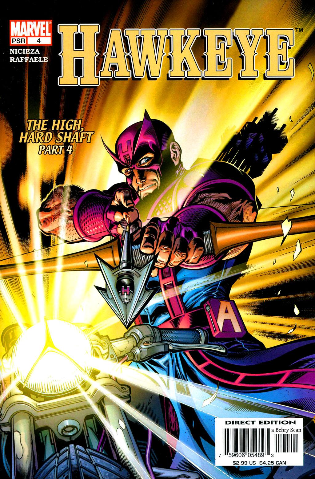 Hawkeye (2003) Issue #4 #4 - English 1