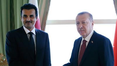 اردوغان, تميم, قطر, تركيا,