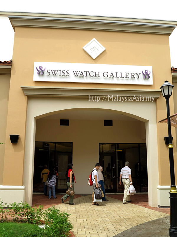 Malaysia Swiss Watch Gallery Outlet