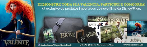 Promo: Concorra a um kit importado do filme Valente. 18