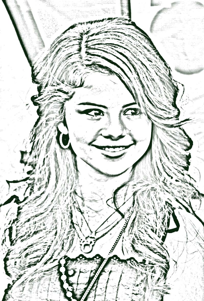 Taylor Swift Coloring Page