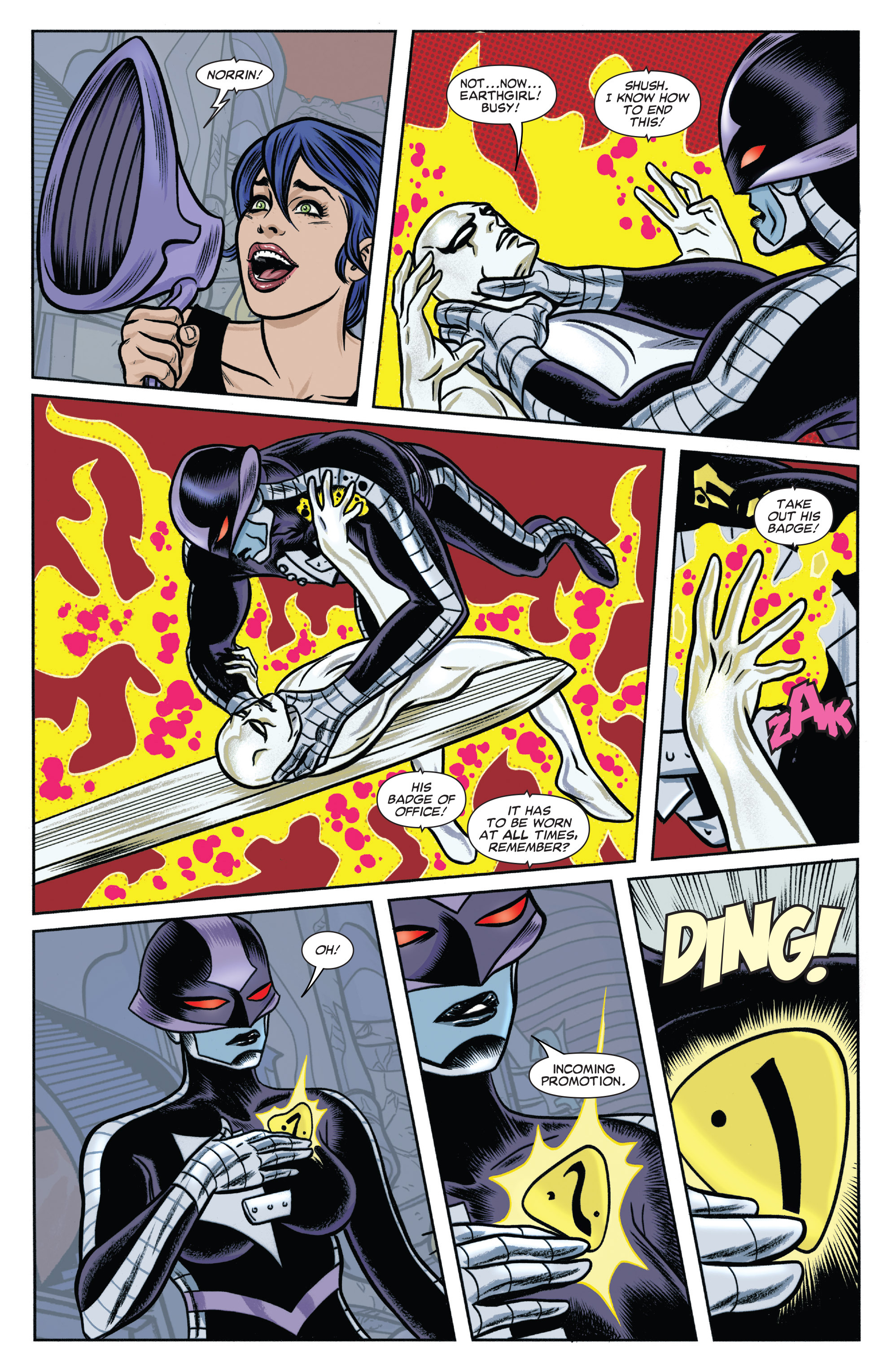 Read online Silver Surfer (2014) comic -  Issue #6 - 18