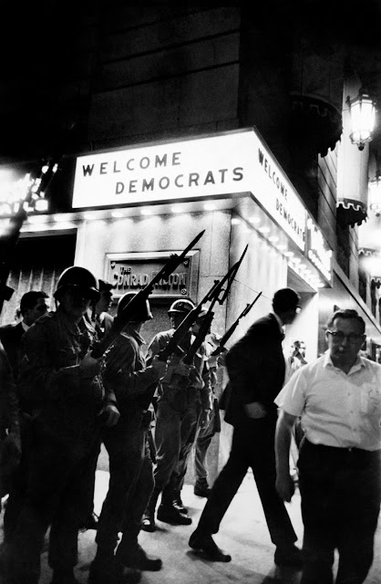 From the Vault of Art Shay: Witness To The 1968 Democratic Convention