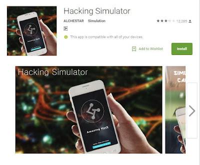 Hacking Simulator بۆ هاكك كردنی ههموویارییهكان بۆ سیستهمهی ئهندرۆید