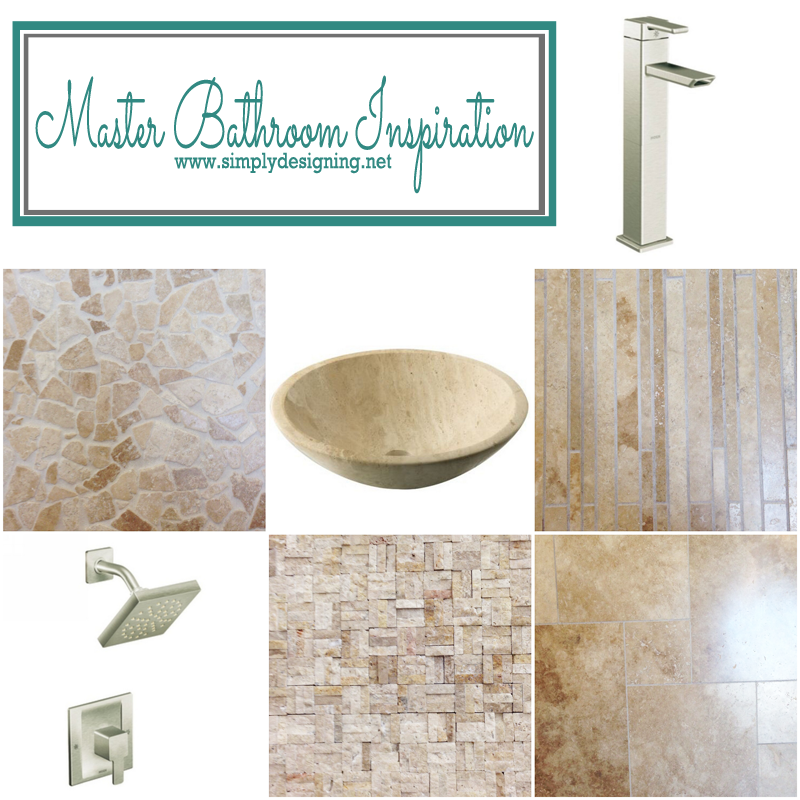 Master Bathroom Inspiration | this is beautiful and absolutely amazing inspiration! #thetileshop #moen @thetileshop @Moen #masterbathroom #bathroom #tile #remodel