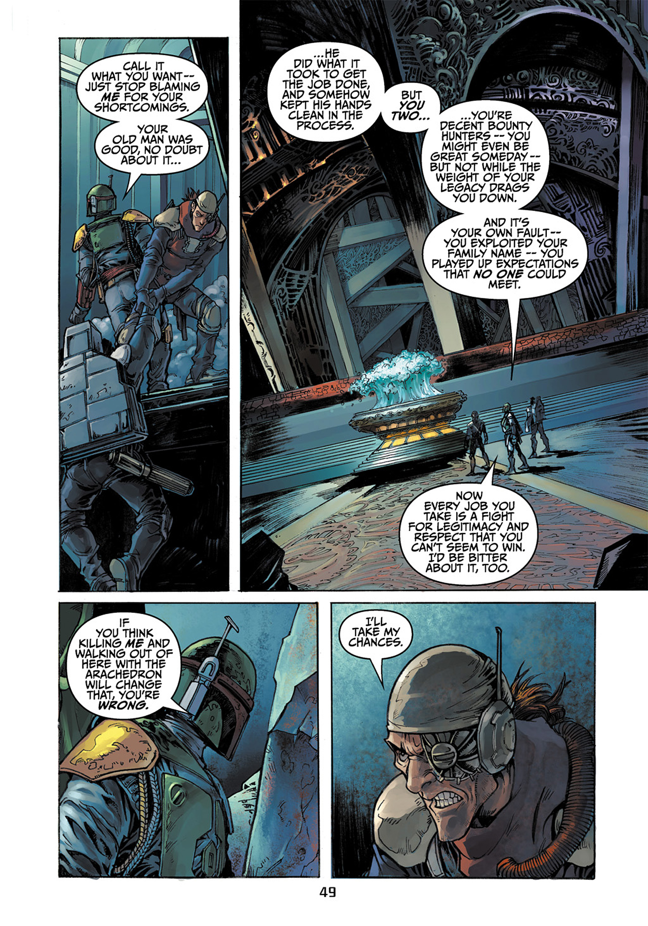 Read online Star Wars Adventures comic -  Issue # Issue Boba Fett and the Ship of Fear - 50