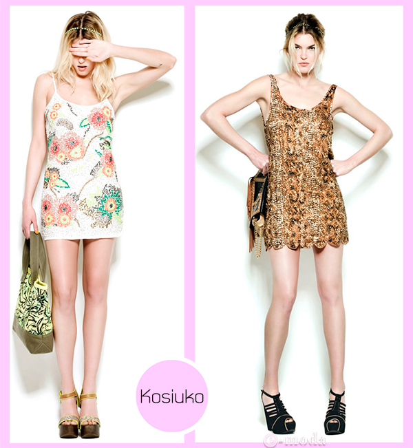 Kosiuko vestidos de fiesta 2012