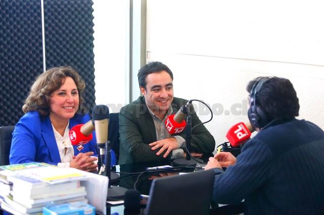 Alvaro Pillado y Ingrid Schettino