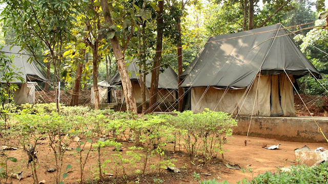 Tents in FRH Kuldiha