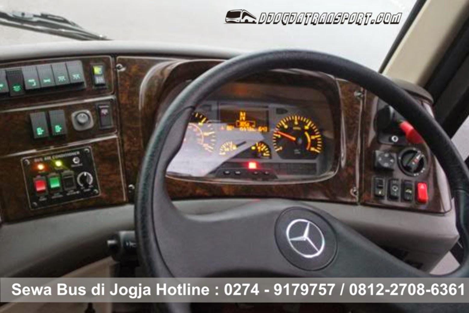 sewa big bus ac wisata di Jogja