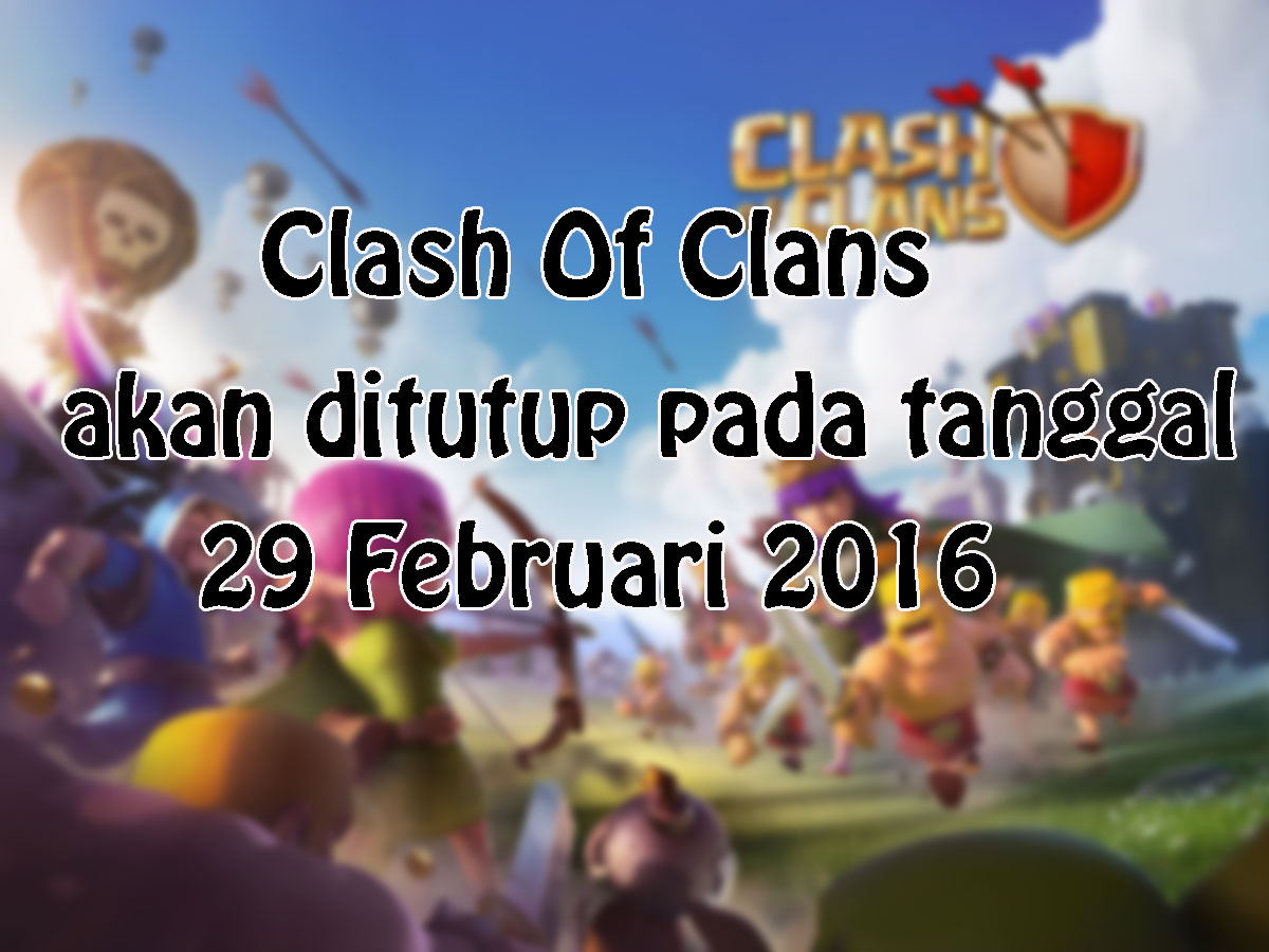 Ayo Bermain Clash Of Clans
