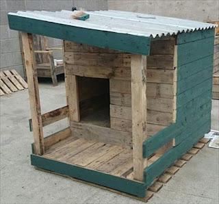 casas para mascotas con palets