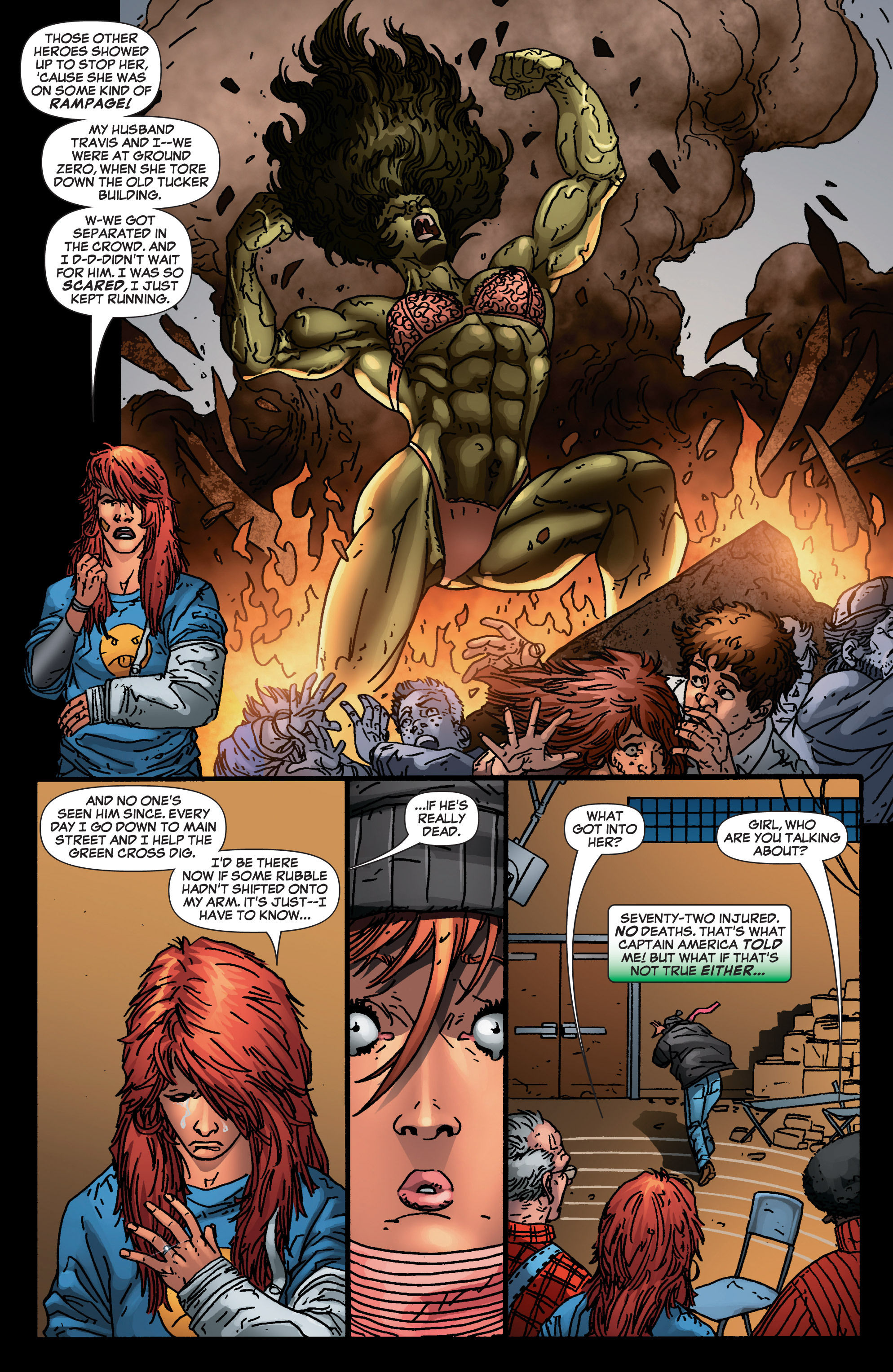 Read online She-Hulk (2005) comic -  Issue #4 - 9