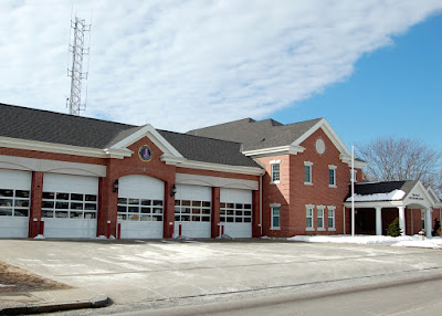 Franklin Fire Dept Headquarters, 40 West Central Street, Franklin MA