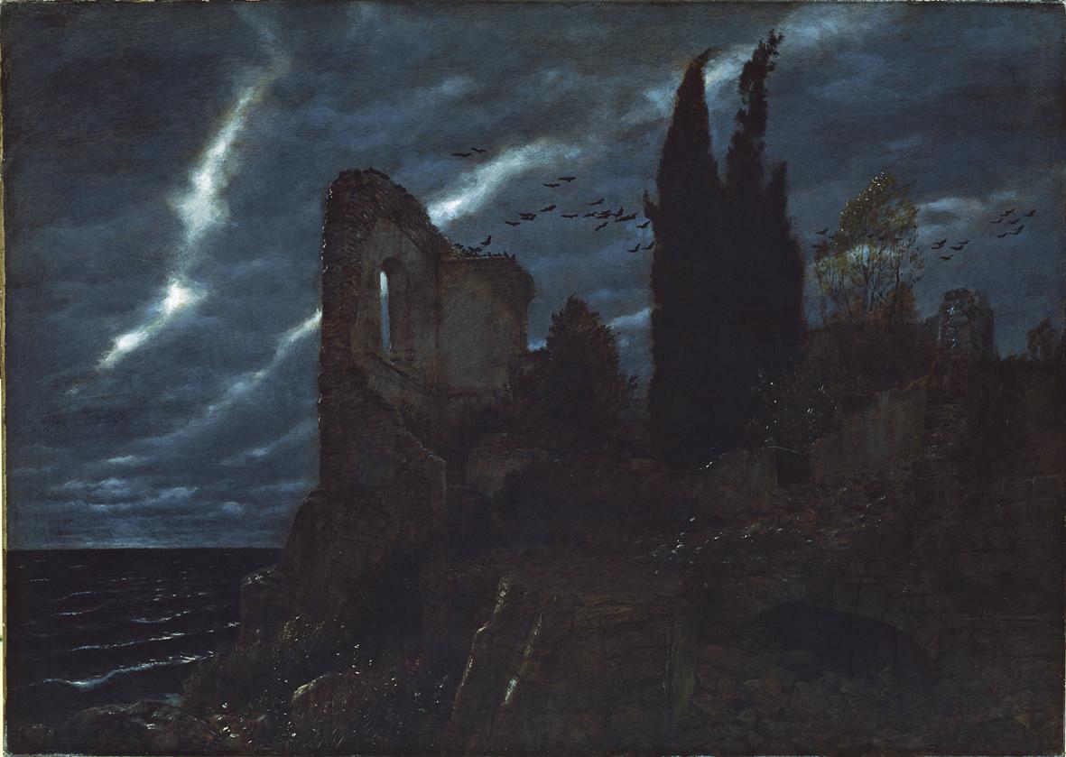 Arnold    C  cklin  Ruine  am  Meer     Rovina  sul  mare