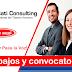 TRABAJOS VIGENTES VOCATI CONSULTING 116 Auxiliar Contable y Administrativo