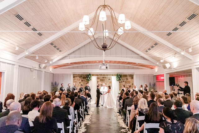 Chesapeake Bay Beach Club Winter Wedding photographed by Heather Ryan Photography
