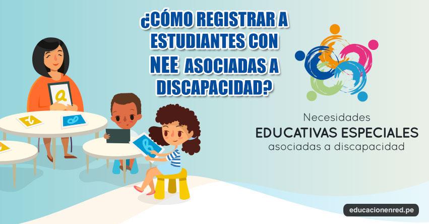 ECE 2017: Pasos para Registrar a Estudiantes con NEE Asociadas a Discapacidad [VIDEO] UMC - MINEDU - www.minedu.gob.pe