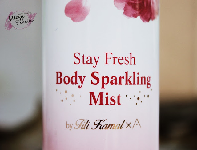Body Sparkling by Titi Kamal dan Pore Purifying Serum Cleanser Althea
