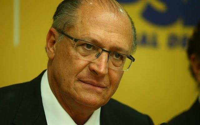 Alckmin dá canelada ao não apoiar Jair Bolsonaro