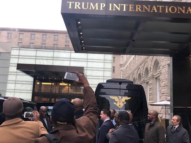 Atiku checks into Donald's Trump Hotel (Photos)- www.gisttribe.com