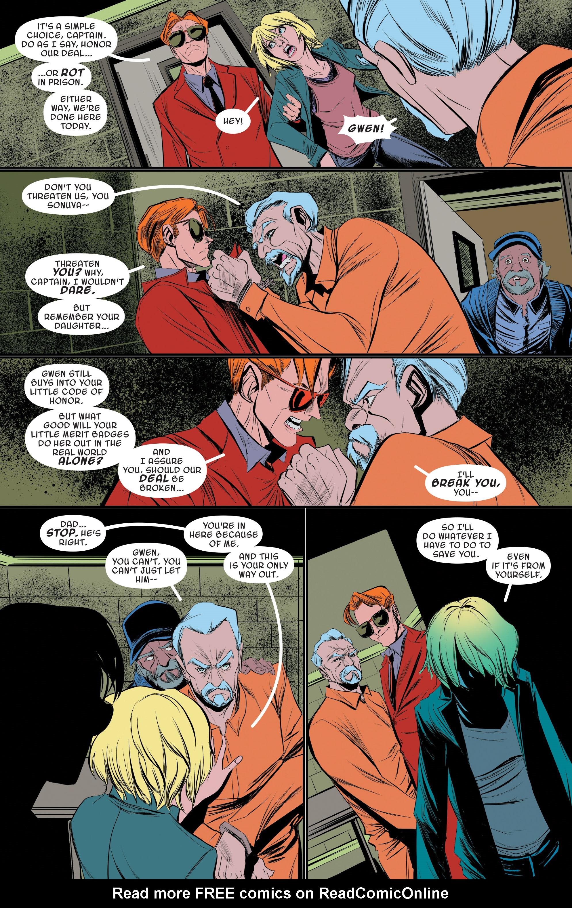 Read online Spider-Gwen [II] comic -  Issue #19 - 10