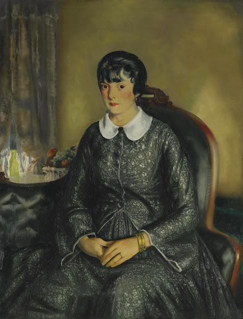 George Wesley Bellows - Портрет мэри Маккиннон