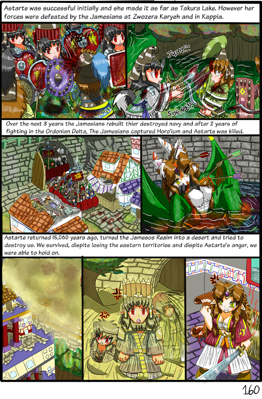 Astarte's Challenge: Pages 160 , 161 and 162