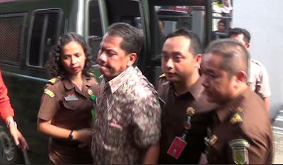 Resmi Ditetapkan Tersangka Oleh Kejaksaan Negeri Pekalongan, Ketua Koni Kota Pekalongan Akhirnya Ditahan