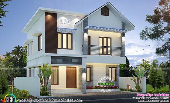 Cute modern home