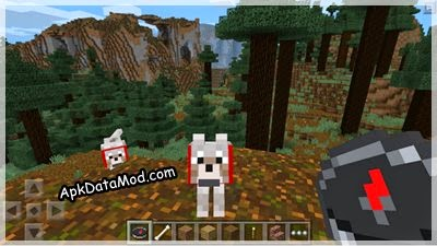 Minecraft - Pocket Edition Apk dogs and compass
