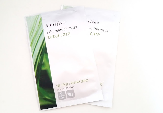 Innisfree Skin Solution mask in Total Care
