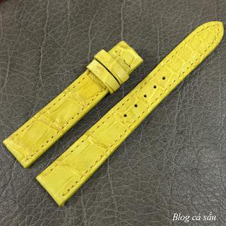 dây đồng hồ nữ da cá sấu 06