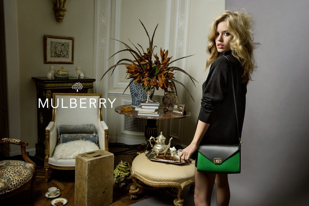 Georgia May Jagger Replaces Cara Delevingne Mulberry