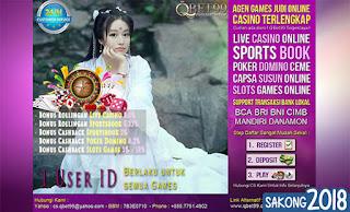 Menang Bermain Judi Domino Online 99QBet.net
