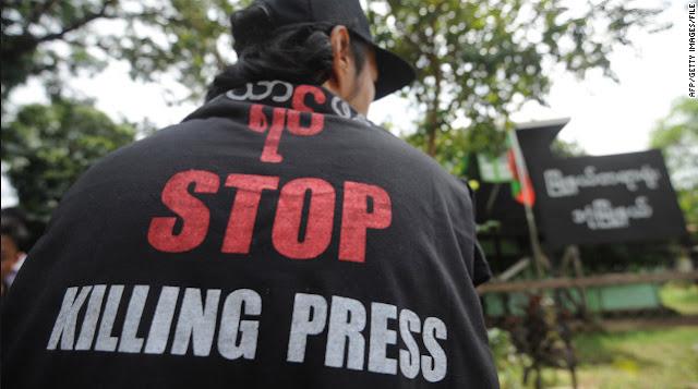 80 Pekerja Media Tewas, 348 Dipenjara Sepanjang 2018