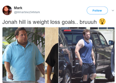 Hollywood actor, Jonah Hill credits his recent slim figure to advice from pal Channing Tatum
