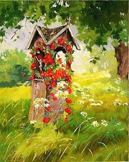 Kapliczka przydrożna - Elżbieta Hałasa - http://ias24.eu